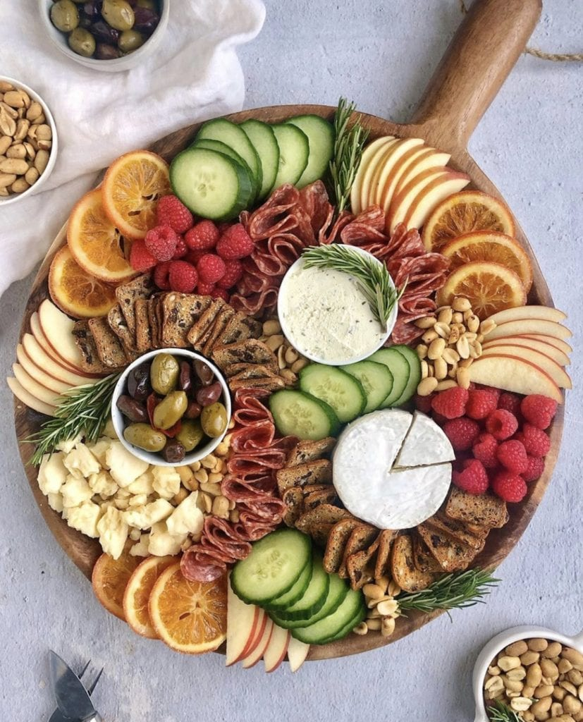 cheese board on a budget