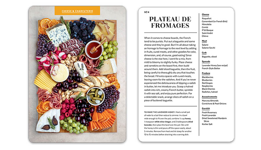 French cheese deck cards
