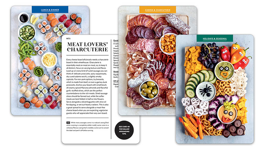 The Cheese Deck Cards Sampler