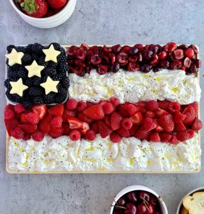 4th of july appetizers red white and blue