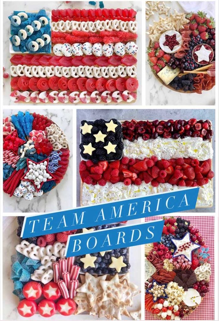 team USA olympic party appetizer